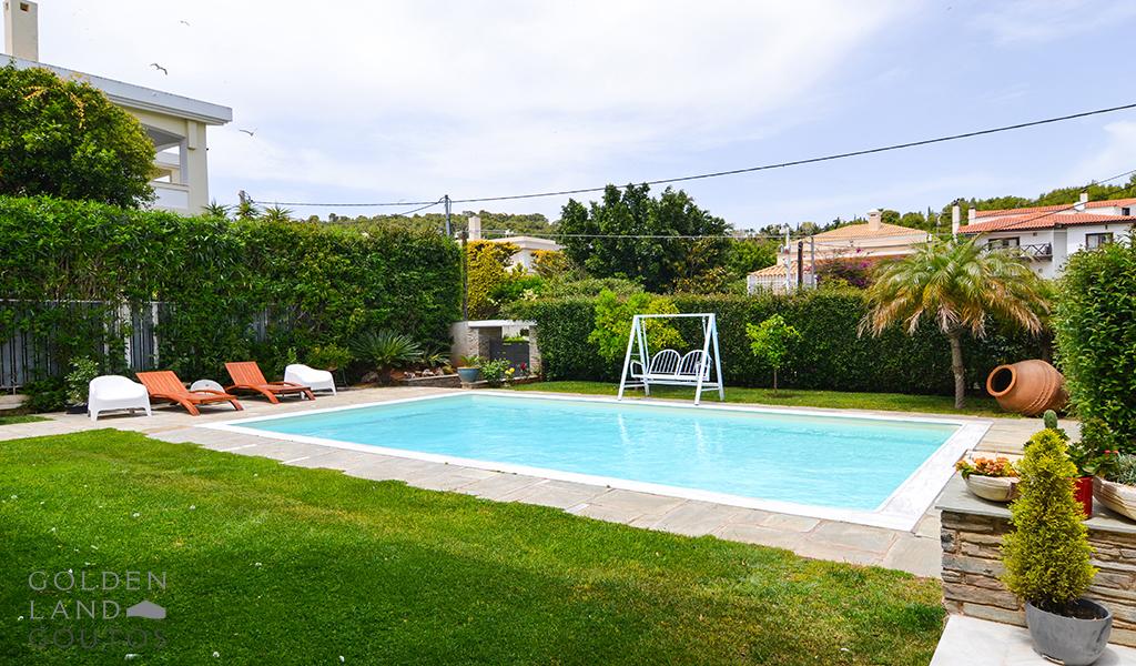 Villa in Varkiza with Private Pool