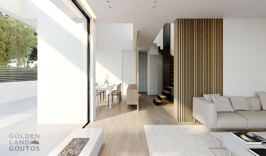Minimal Ground Floor Maisonette with Pool in Glyfada