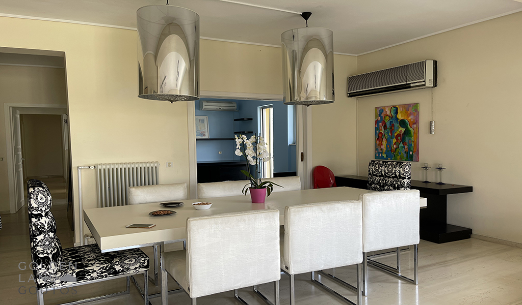 Furnished Penthouse in the center of Glyfada